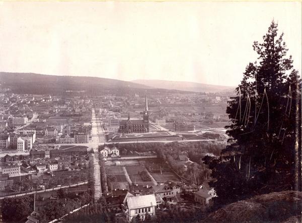 Sundsvall från Norra berget