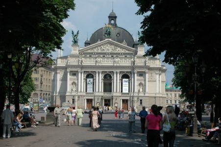 Operan i Lviv mindre