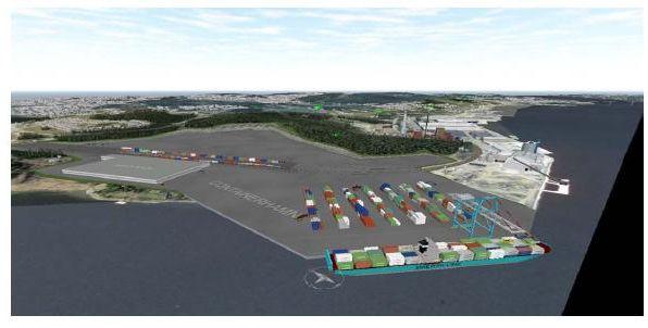 Containerhamn